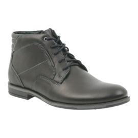 Riko mäns skor booties Jodhpur 861 svart 1