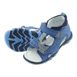 Sandaler pojkarnappar Bartek 51489 blå 5