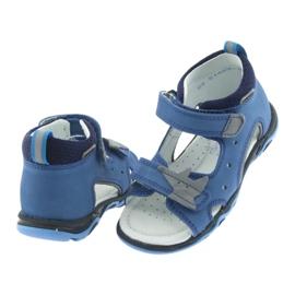 Sandaler pojkarnappar Bartek 51489 blå 4