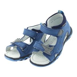 Sandaler pojkarnappar Bartek 51489 blå 3