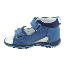 Sandaler pojkarnappar Bartek 51489 blå 2