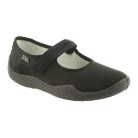 Befado kvinnors skor pu - ung 197D002 svart 2