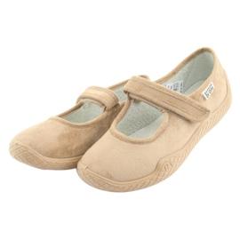 Befado kvinnors skor pu - ung 197D004 brun 3