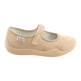 Befado kvinnors skor pu - ung 197D004 brun 1