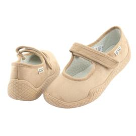 Befado kvinnors skor pu - ung 197D004 brun 4