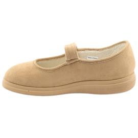Befado kvinnors skor pu 462D003 brun 3