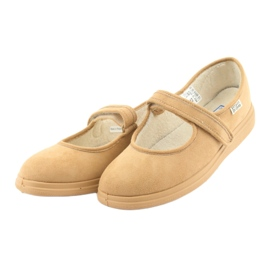 Befado kvinnors skor pu 462D003 brun 4