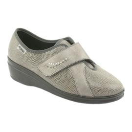 Befado kvinnors skor pu 032D003 grå 1