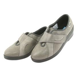 Befado kvinnors skor pu 032D003 grå 3
