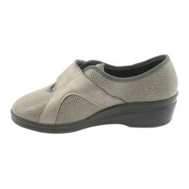Befado kvinnors skor pu 032D003 grå 2