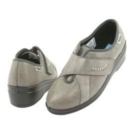Befado kvinnors skor pu 032D003 grå 4