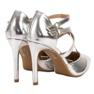 Kylie Glänsande modepinnar grå 5