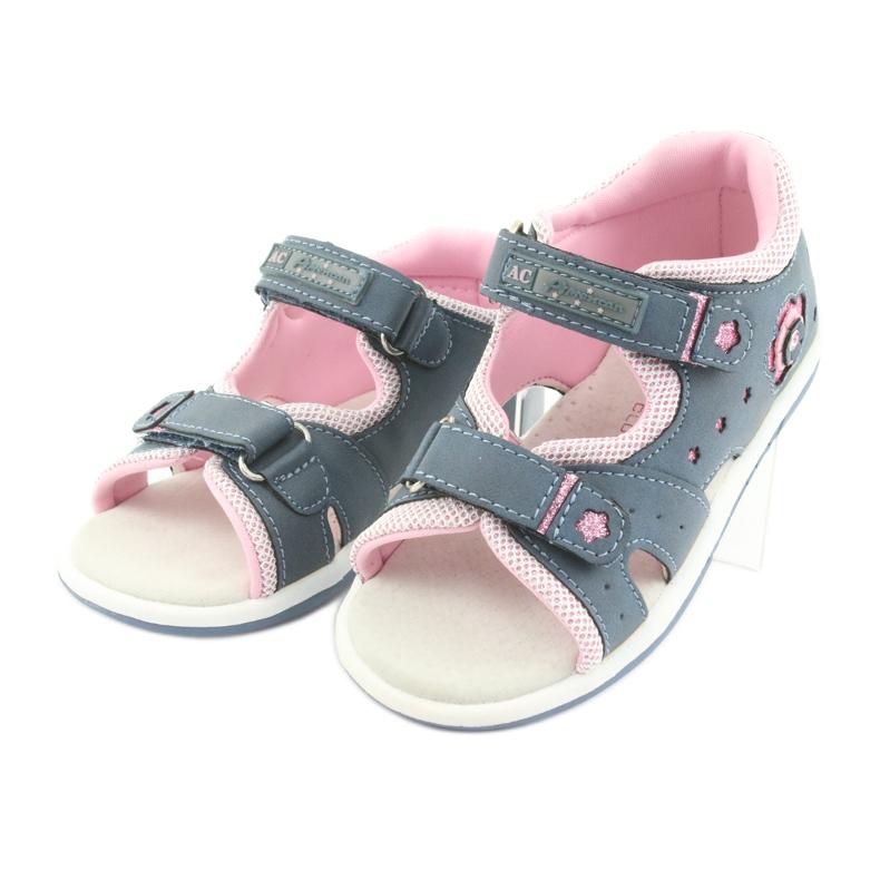 Flickor sandaler American Club DR20 denim bild 3