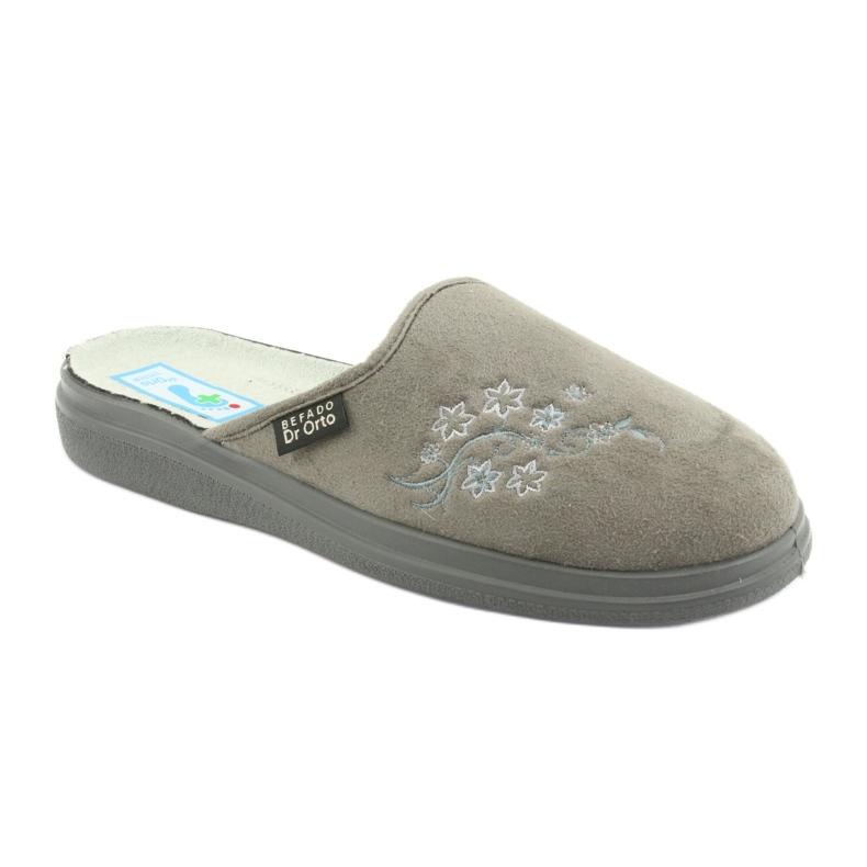 Grå Befado kvinnors skor pu 132D013 bild 1