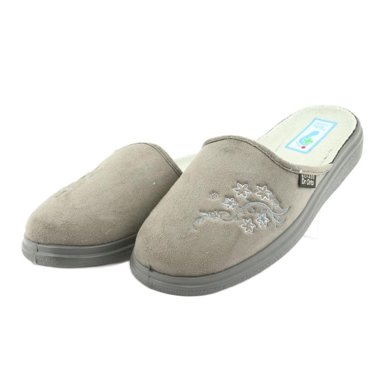 Grå Befado kvinnors skor pu 132D013 bild 3