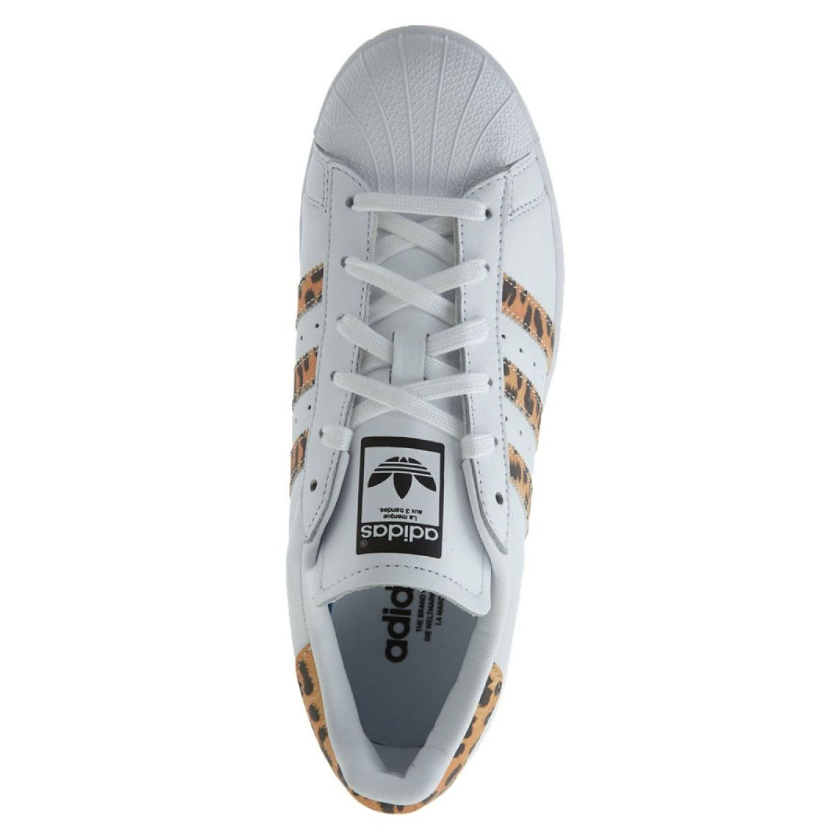 Vit Adidas Originals Superstar skor W CQ2514