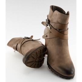 Ankel stövlar brun 8287 Khaki 2