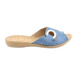 Befado kvinnors skor pu 265D015 blå 1