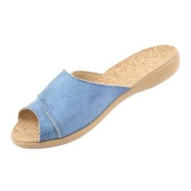 Befado kvinnors skor pu 265D015 blå 3