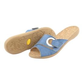 Befado kvinnors skor pu 265D015 blå 5