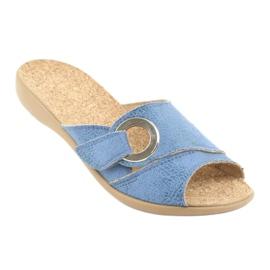Befado kvinnors skor pu 265D015 blå 2