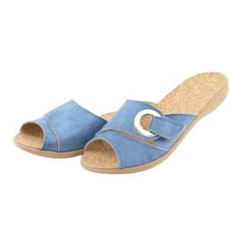 Befado kvinnors skor pu 265D015 blå 4