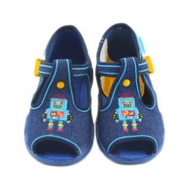 Befado barnskor 217P103 blå 4