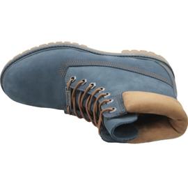Timberland 6 Inch Premium Boot M A1LU4 skor marinblå 2