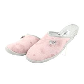 Befado färgade damskor 235D161 rosa grå 3