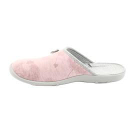 Befado färgade damskor 235D161 rosa grå 2