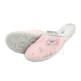 Befado färgade damskor 235D161 rosa grå 4