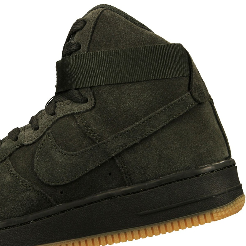 Nike Air Force 1 High Lv 8 Gs Jr 807617 300 skor grön