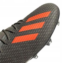 Adidas X 19.2 Fg M EF8364 fotbollsskor grå grön 3