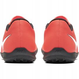 Nike Phantom Venom Club Tf M AO0579 810 fotbollsskor apelsin vit, orange 4