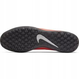 Nike Phantom Venom Club Tf M AO0579 810 fotbollsskor apelsin vit, orange 5
