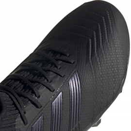 Adidas Predator 19.2 Fg M F35603 fotbollsskor svart svart 2