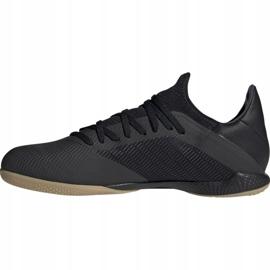 Adidas X 19.3 I M F35369 fotbollsskor svart svart 1