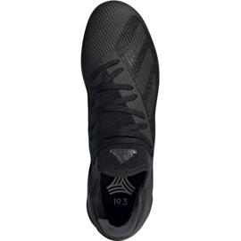 Adidas X 19.3 I M F35369 fotbollsskor svart svart 2