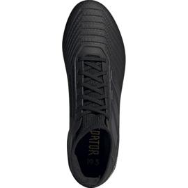 Adidas Predator 19.3 Fg M F35594 fotbollsskor svart svart 2