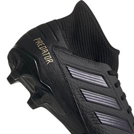 Adidas Predator 19.3 Fg M F35594 fotbollsskor svart svart 3