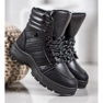 Yes Mile Svarta sneakers på plattformen 2