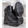 Yes Mile Svarta sneakers på plattformen 4