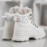 SHELOVET Isolerade sneakers vit 3