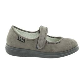 Befado kvinnors skor pu 462D001 grå 1