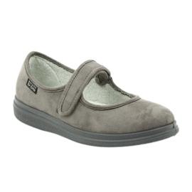 Befado kvinnors skor pu 462D001 grå 2