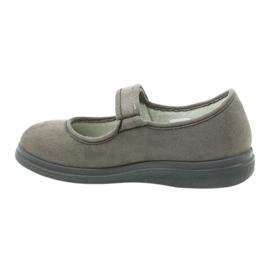 Befado kvinnors skor pu 462D001 grå 3