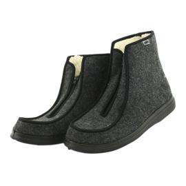 Befado kvinnors skor pu 996D004 grå 4