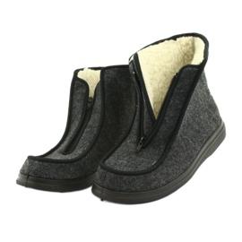 Befado kvinnors skor pu 996D004 grå 6