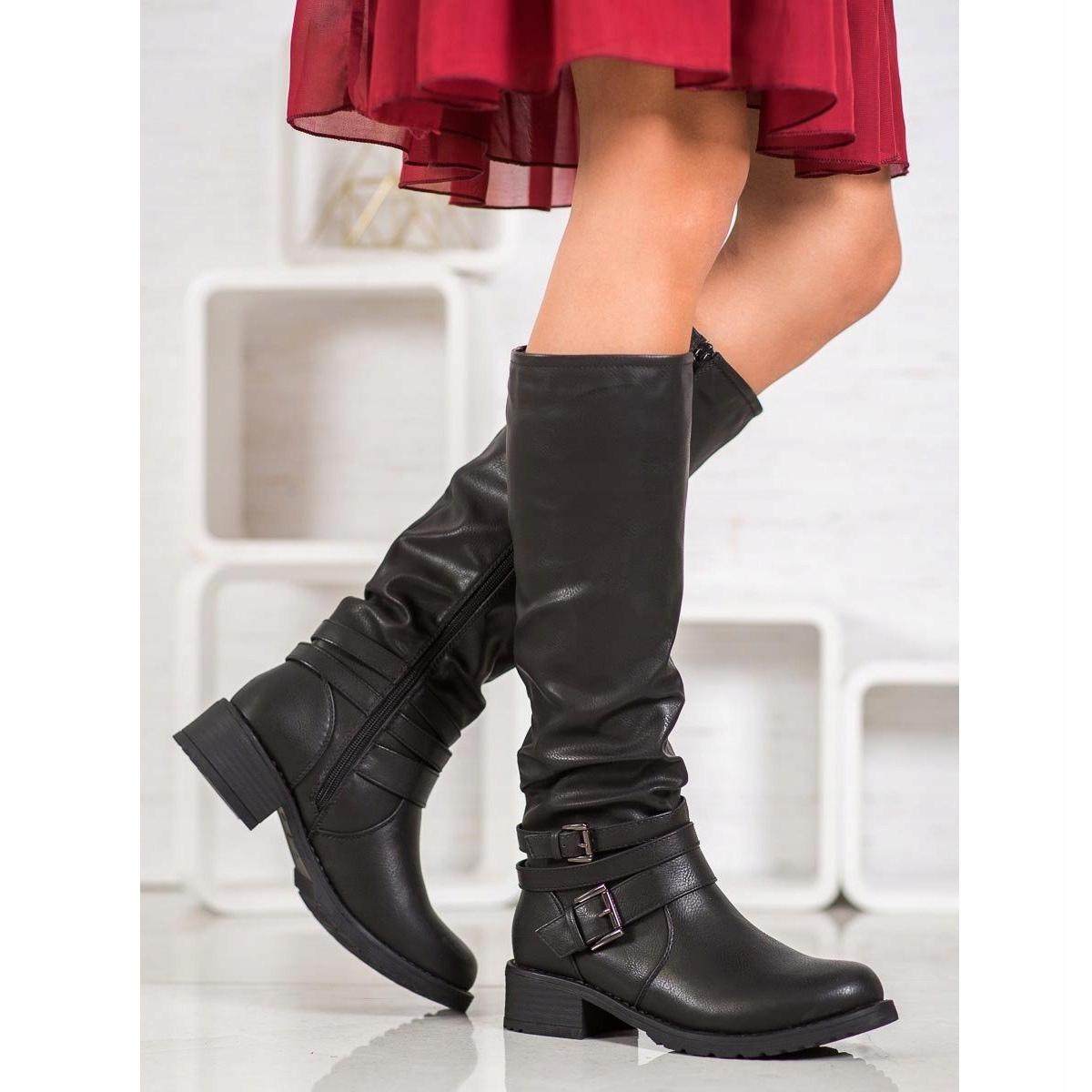 Super Mode Klassiska svarta skor