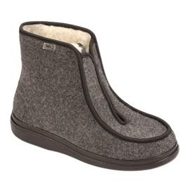 Befado kvinnors skor pu 996D004 grå 1